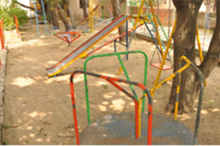 Najath English Medium School-Kids Play Area