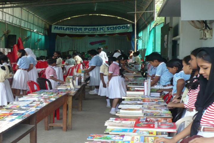 Nalanda Public School-Book Exhibition