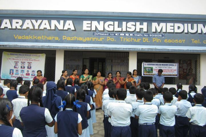 Narayana English Medium School-Assembly