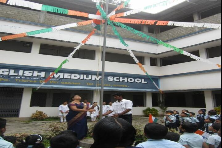 Narayana English Medium School-Independence Day