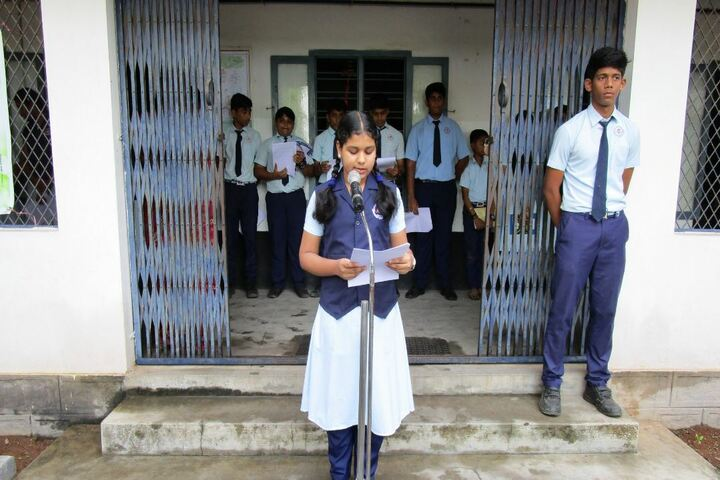 Narayana English Medium School-Speech