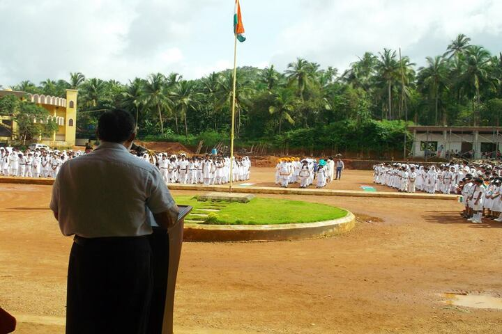 Narikkuni English Medium School-Independence Day