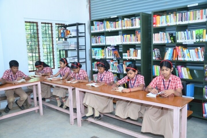 Nava Jyothy English Medium School-Library