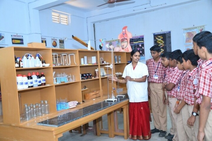 Nava Jyothy English Medium School-Science Lab