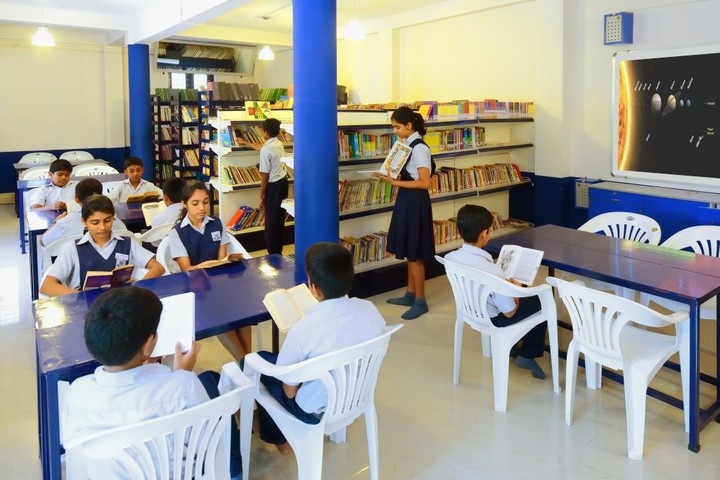 Nava Nirman Public School-Library