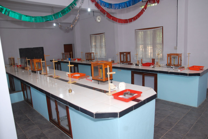 Nehru Memorial Model School-Physics Lab