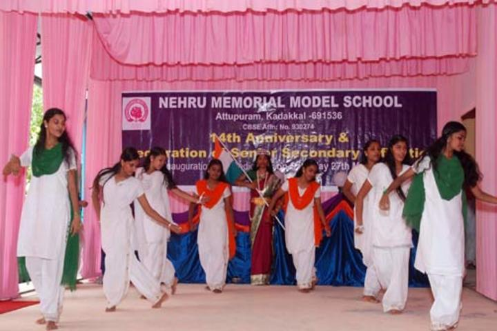 Nehru Memorial Model School-Dance