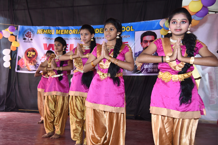 Nehru Memorial Model School-Welcome Dance
