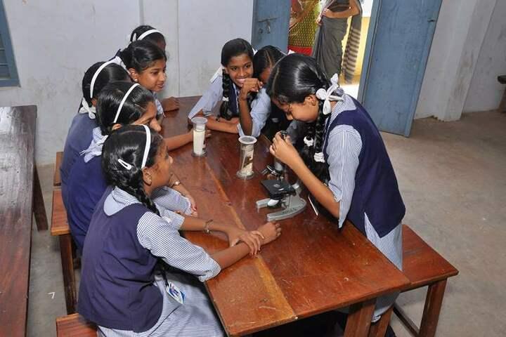 Nehru Memorial Public School-Biology Lab