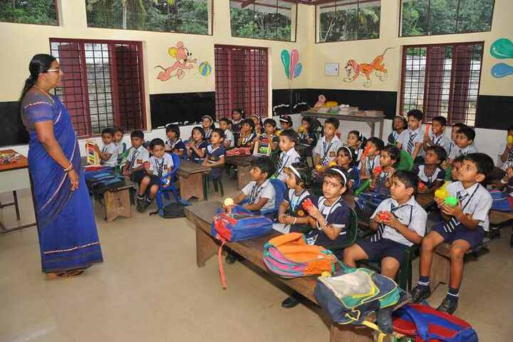 Nehru Memorial Public School-K G Classroom