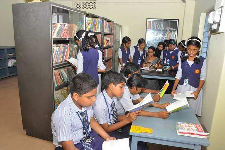Nehru Memorial Public School-Library