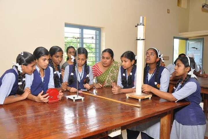 Nehru Memorial Public School-Physics Lab