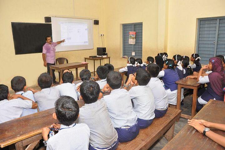 Nehru Memorial Public School-Smart Classroom
