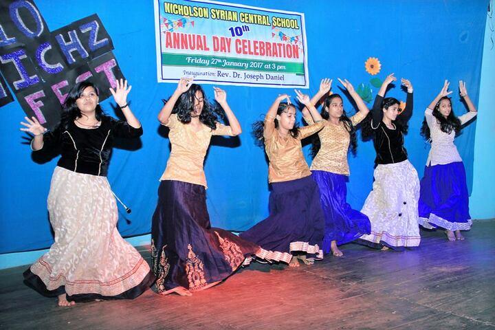 Nicholson Syrian Central School-Annual Day Dance