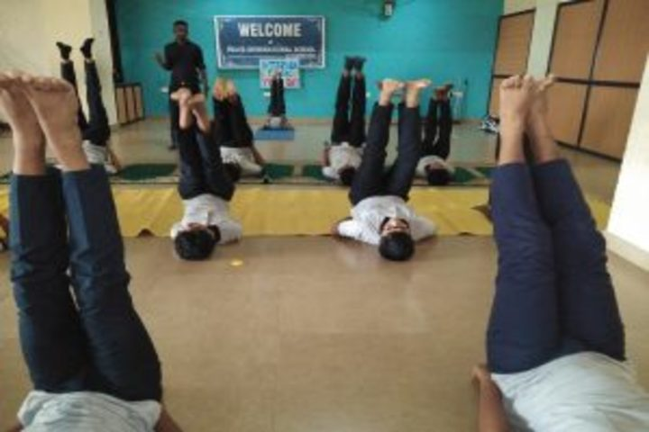 Peace International School-International Yoga Day