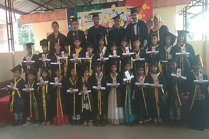 Pleasant English School-Graduation Day