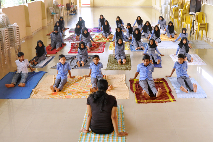 Pleasant English School-Yoga Day