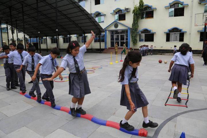 NPS international School- Games