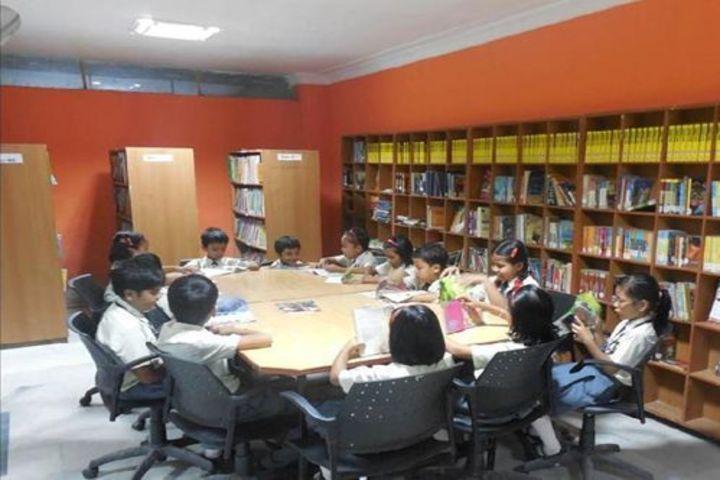 NPS international School- Library