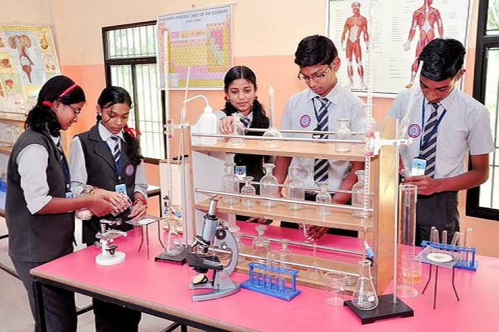 Pushpagiriyil Central School-Science Lab