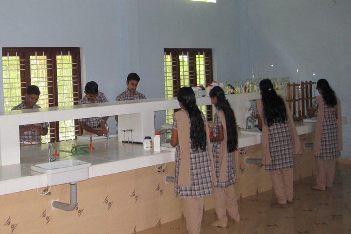 Raja Rajeswari Central School-Chemistry Lab