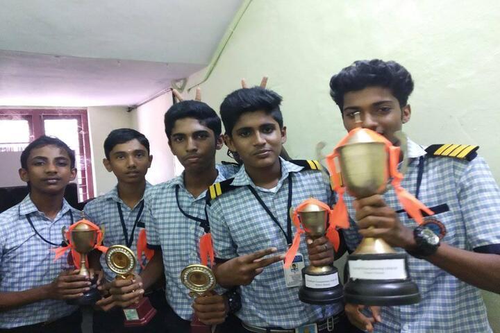 Raja Rajeswari Central School-Awards