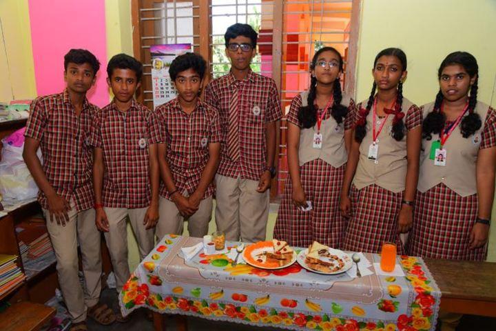Raja Ravi Varma Central School-Food Fest