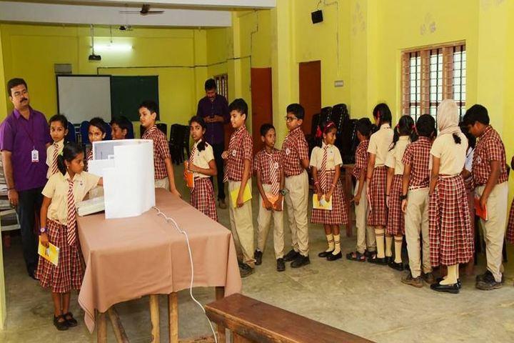 Raja Ravi Varma Central School-Voting
