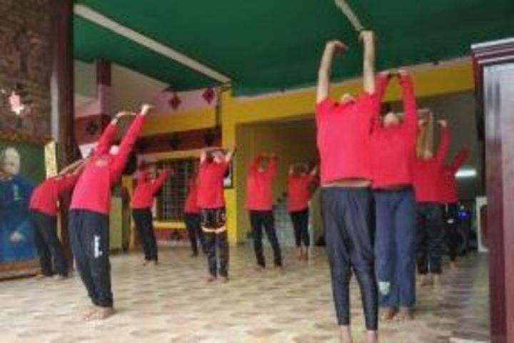 Raja Ravi Varma Central School-Yoga