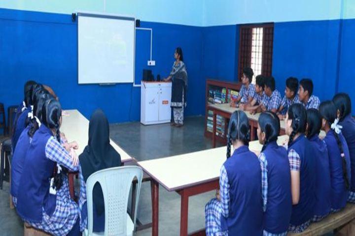 Rajas Memorial English Medium School-Digital room