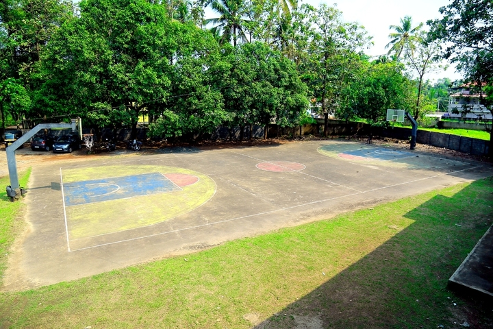 Rajashree S M Memorial School-Basket Ball Court