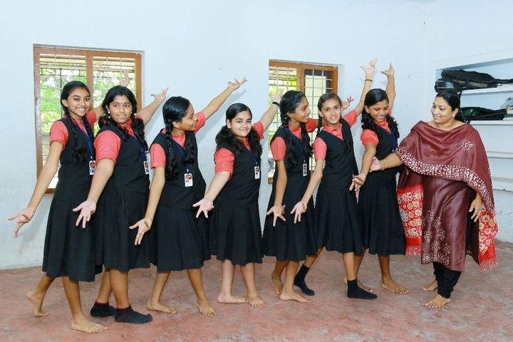 Rajashree S M Memorial School-Dance Room