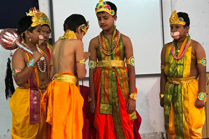 Rajashree S M Memorial School-Drama Event