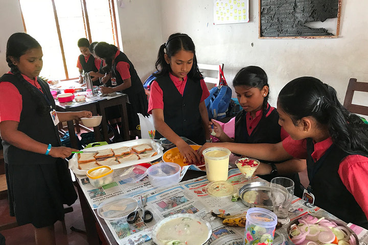 Rajashree S M Memorial School-Food Festival