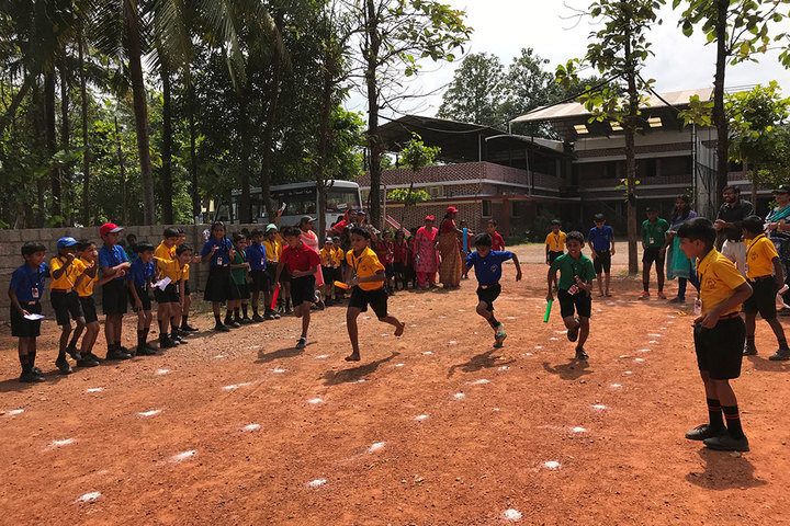 Rajashree S M Memorial School-Games