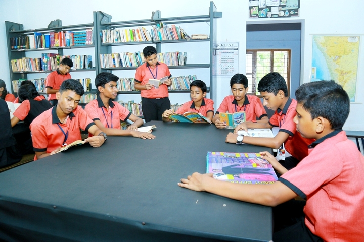 Rajashree S M Memorial School-Library