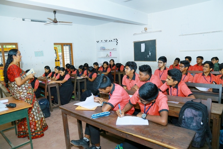 Rajashree S M Memorial School-classrooms