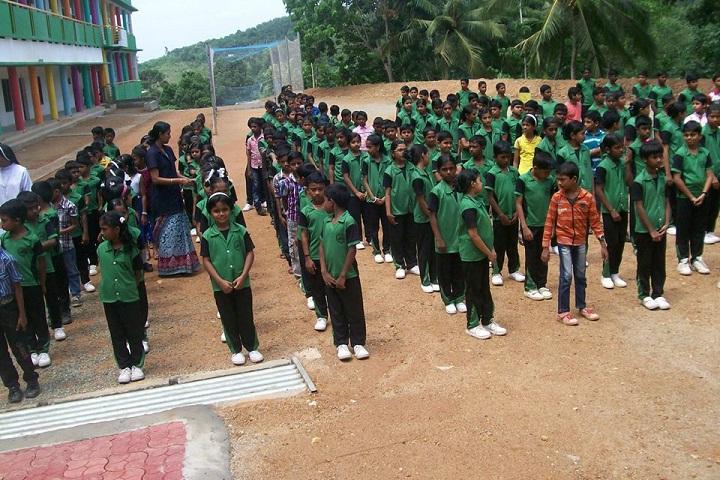 Rajiv Gandhi National School-Assembly
