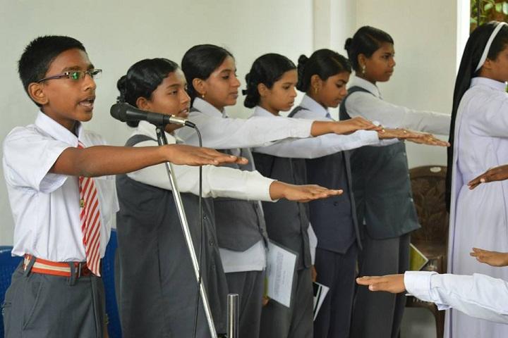 Rajiv Gandhi National School-Pledge