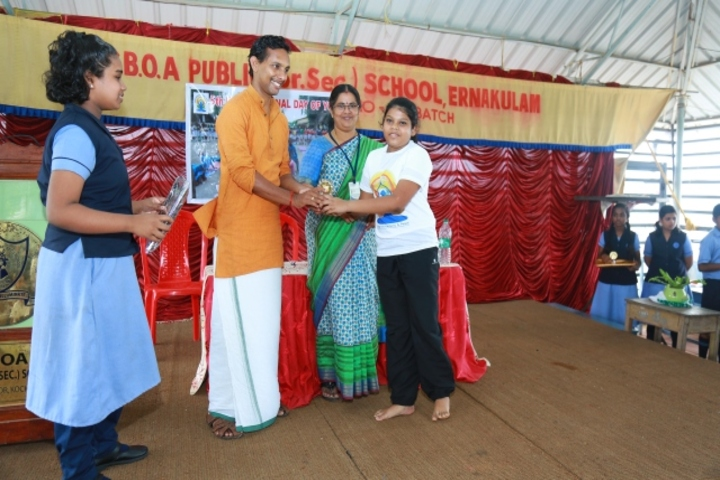 S B O A Public School-Prize Distribution