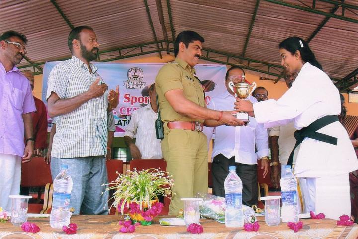 S D P V Central School-Karate Winner