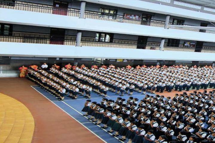 S F S Public School-Morning Assembly