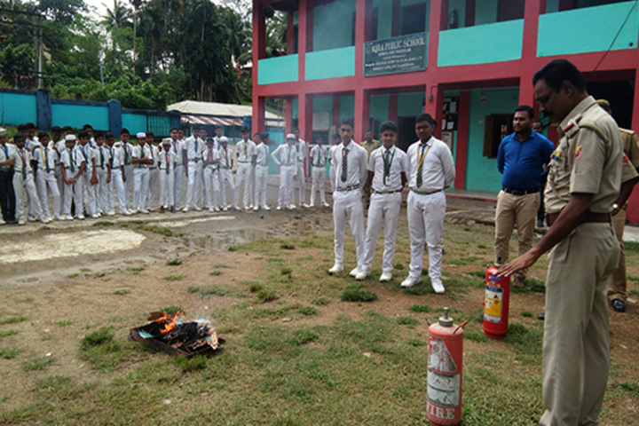 Iqra Public School-Fire Safety Exercise