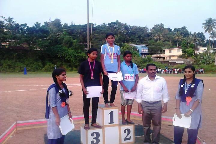 S S V M Residential Central School-Sports Winners