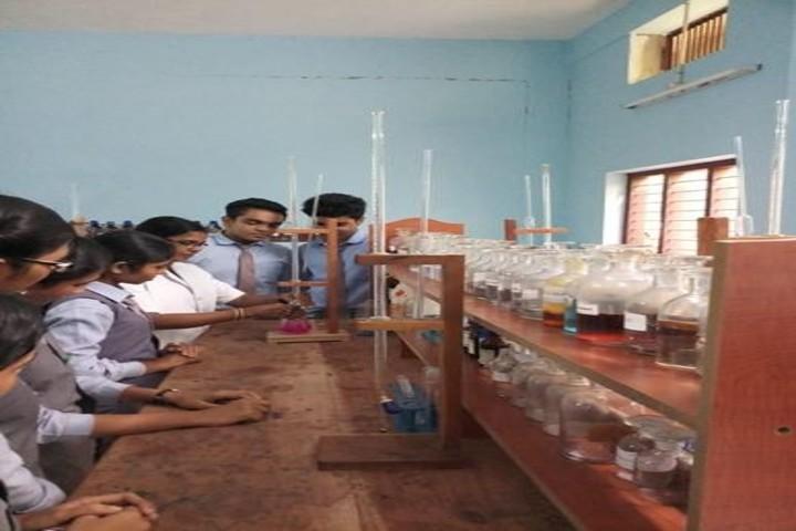 Sree Meenakshi Devaswam Public School-Chemistry Lab