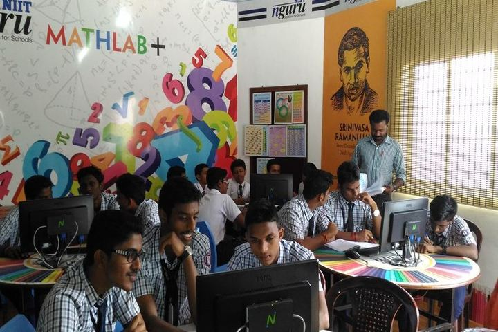 Sabarigiri School-Math lab