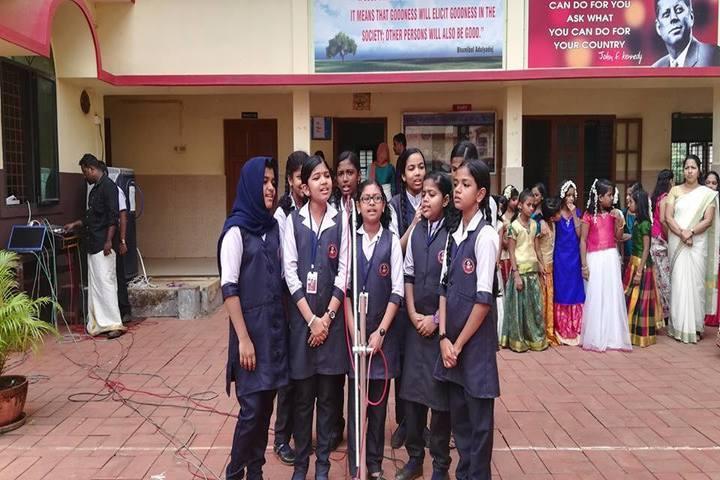 Sacred Heart English Medium School-Singing