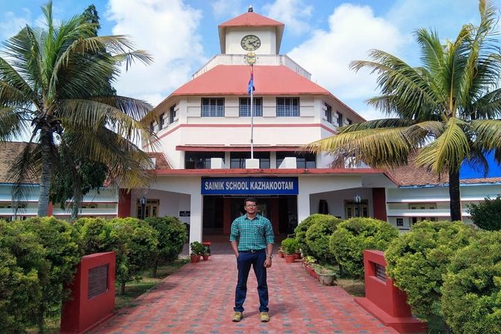 Sainik School-Building