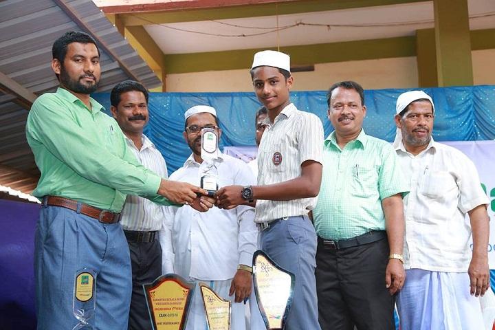 Salahudheen Ayyoobi English School-Prize Distribution