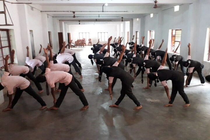 Sangeo Central School-Yoga Day